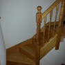 Kenwood Turned Southern Yellow Pine Winder Staircase