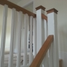Oak & White Stop Chamfered (fluted)