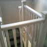 Ash (Kenwood) with Stop Chamfered (fluted) Spindles