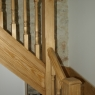 Traditional Southern Yellow Pine Staircase